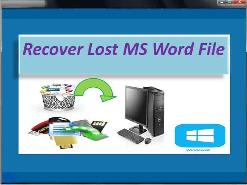 Recover deleted/lost MS Office files